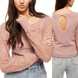 NWT Free People Crystallized Sweater